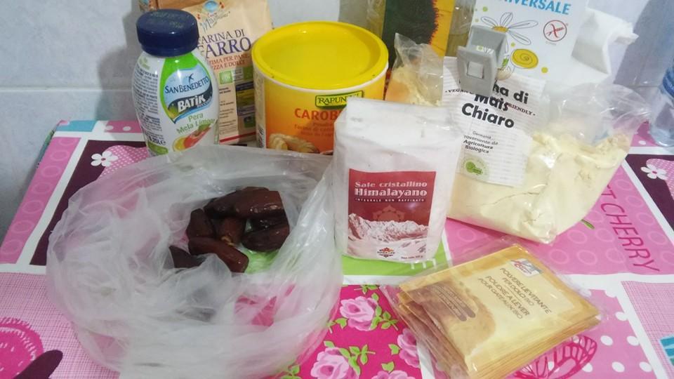ricettevegan.org - biscotti ai datteri -ingredienti