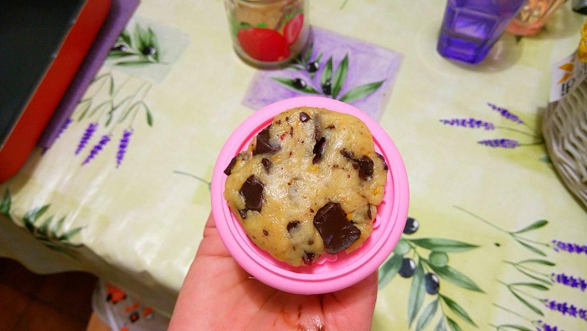 ricettevegan.org - biscotti di farro con gocce cioccolato 2