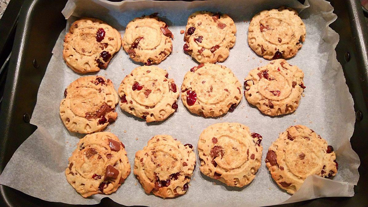 ricettevegan.org - biscotti di farro con gocce cioccolato 4