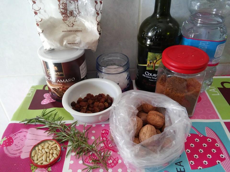 ricettevegan.org - castagnaccio vegan - ingredienti