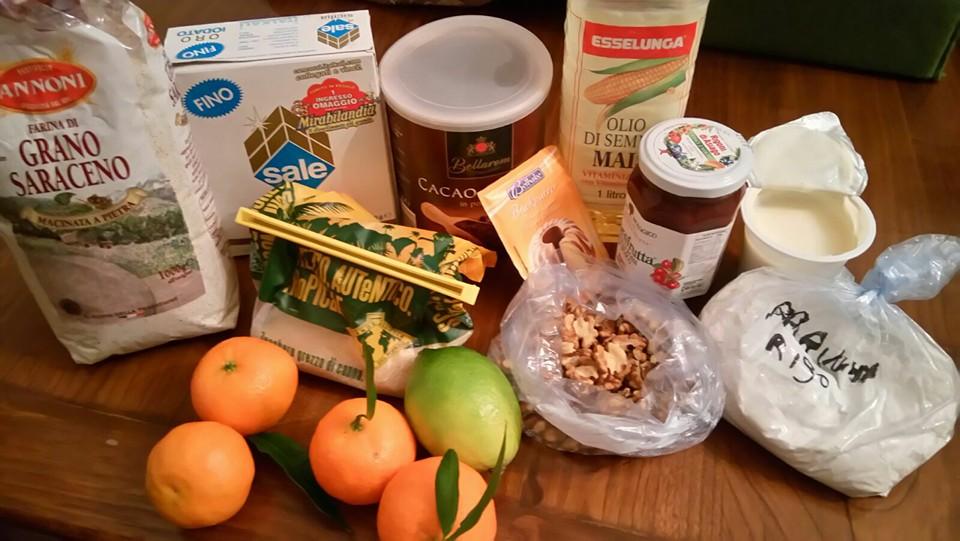 ricettevegan.org - ciambella grano saraceno - ingredienti