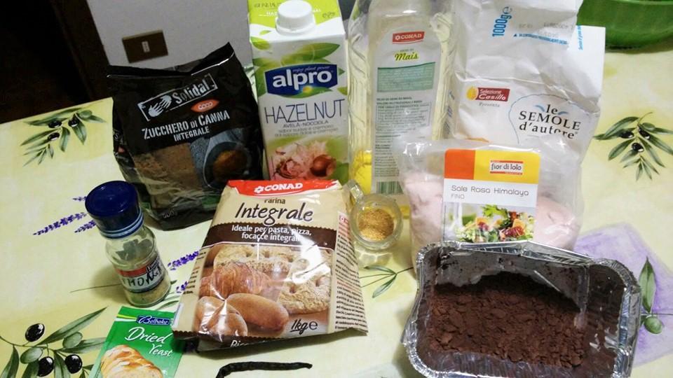 ricettevegan.org - cornetti bicolore - ingredienti