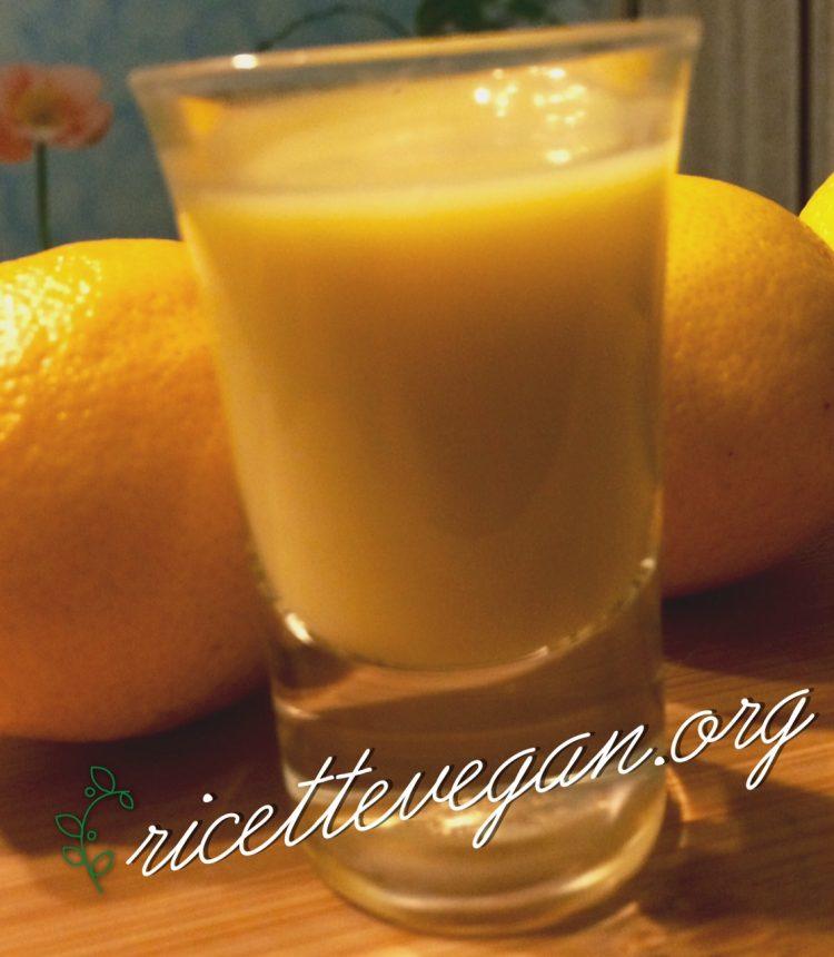 crema di limoncello vegana