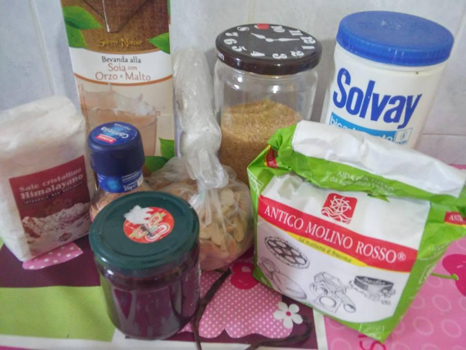 ricettevegan.org - crostata burro di arachidi - ingredienti