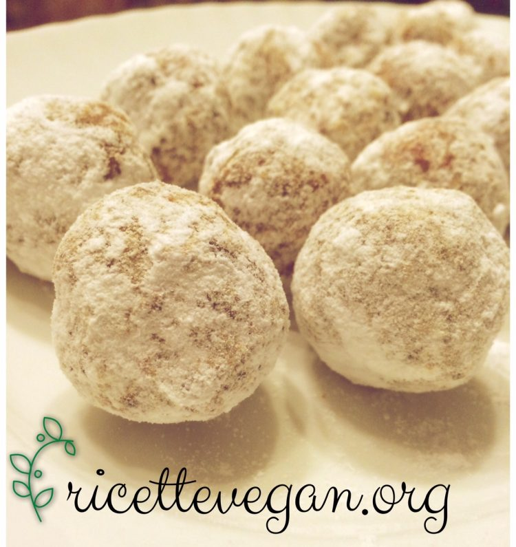 palle di neve vegane