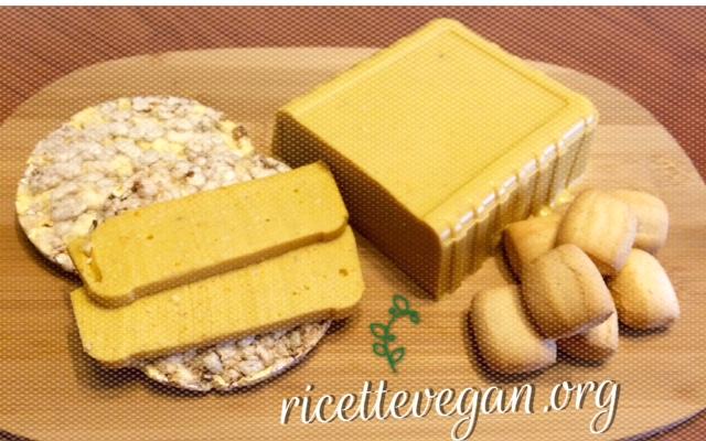 formaggio vegano di anacardi