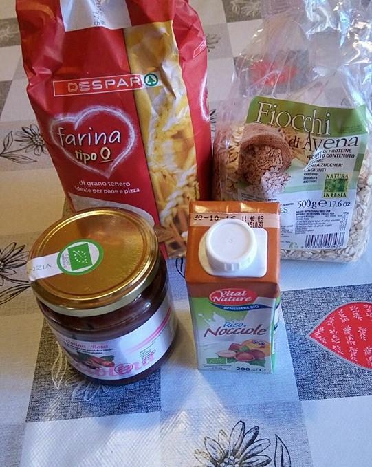 ricettevegan.org - biscotti al cioccolato - ingredienti
