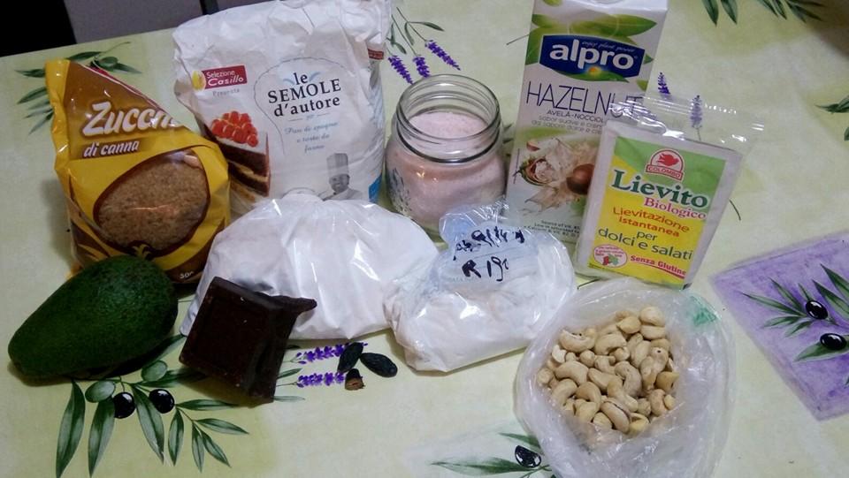 ricettevegan.org - brownies vegan - ingredienti