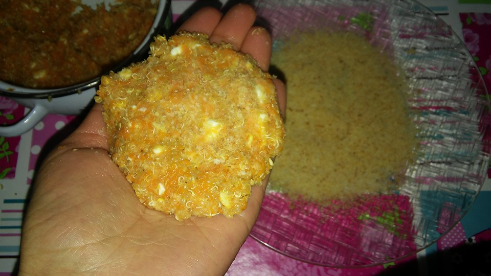 ricettevegan.org - burger quinoa e zucca 6