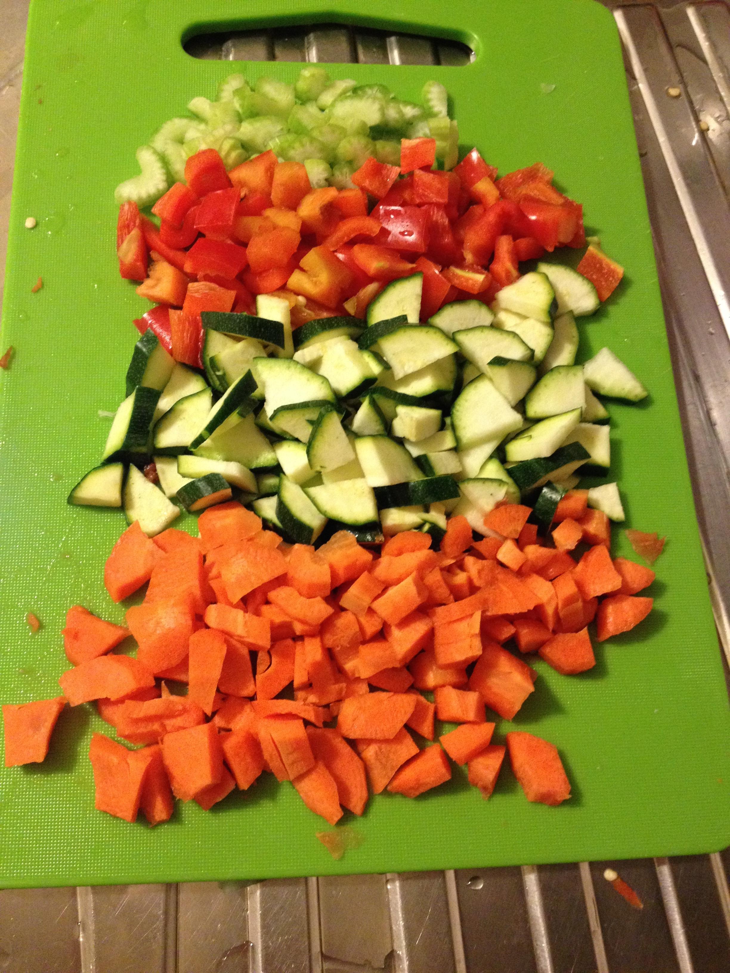 ricettevegan.org - farro con verdure e zafferano 2