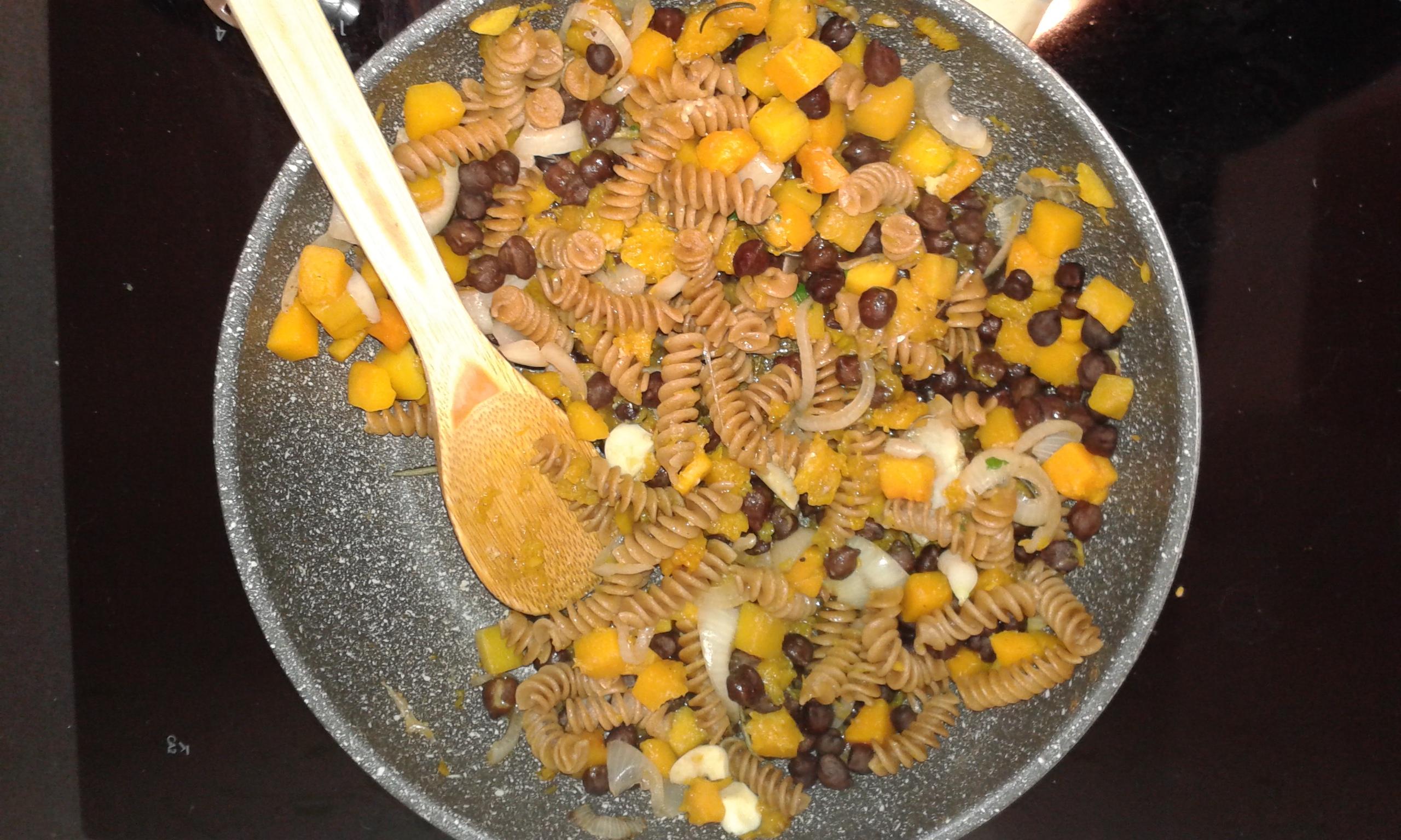 Ricette pasta con zucca e ceci