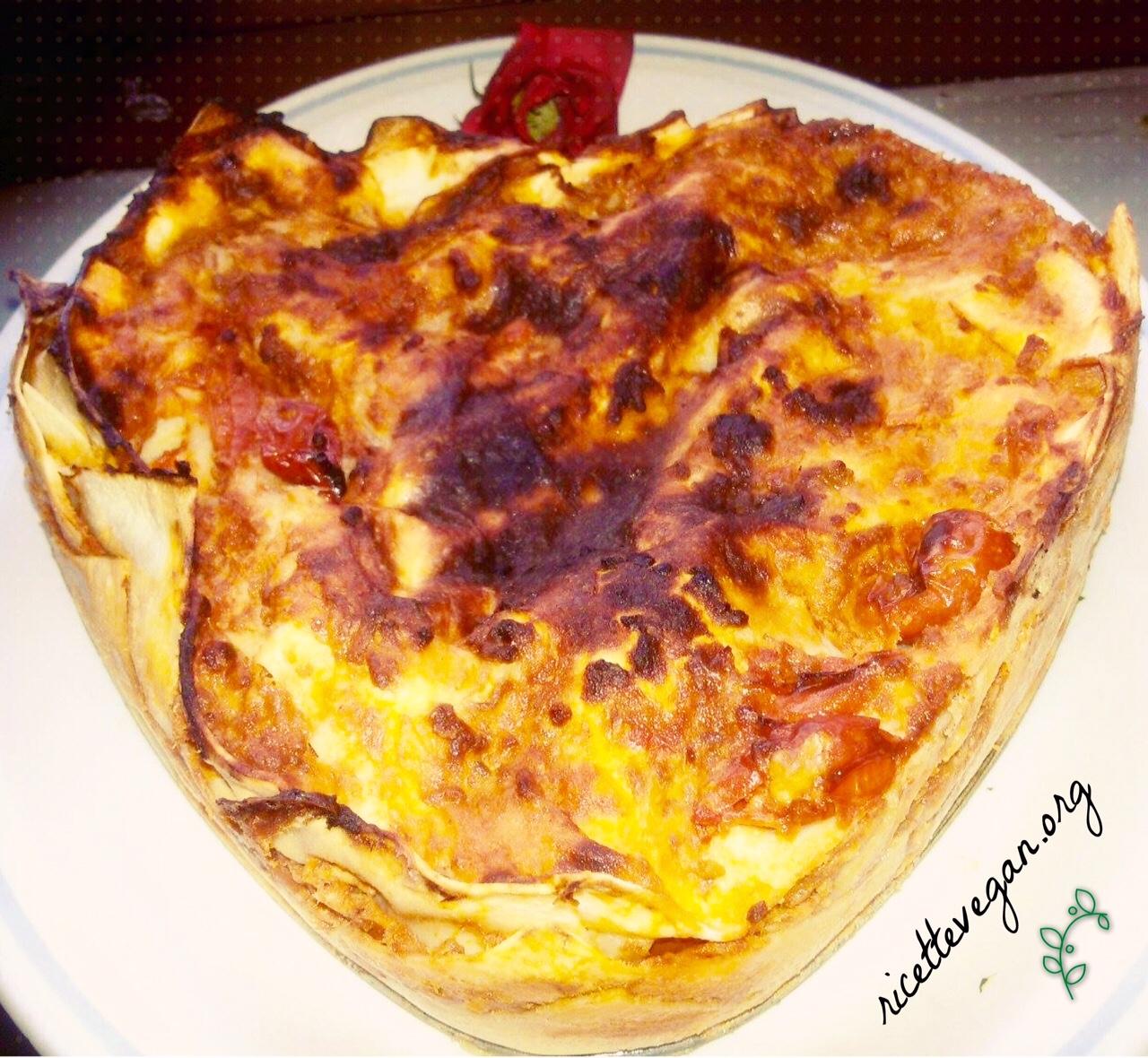 lasagna vegana