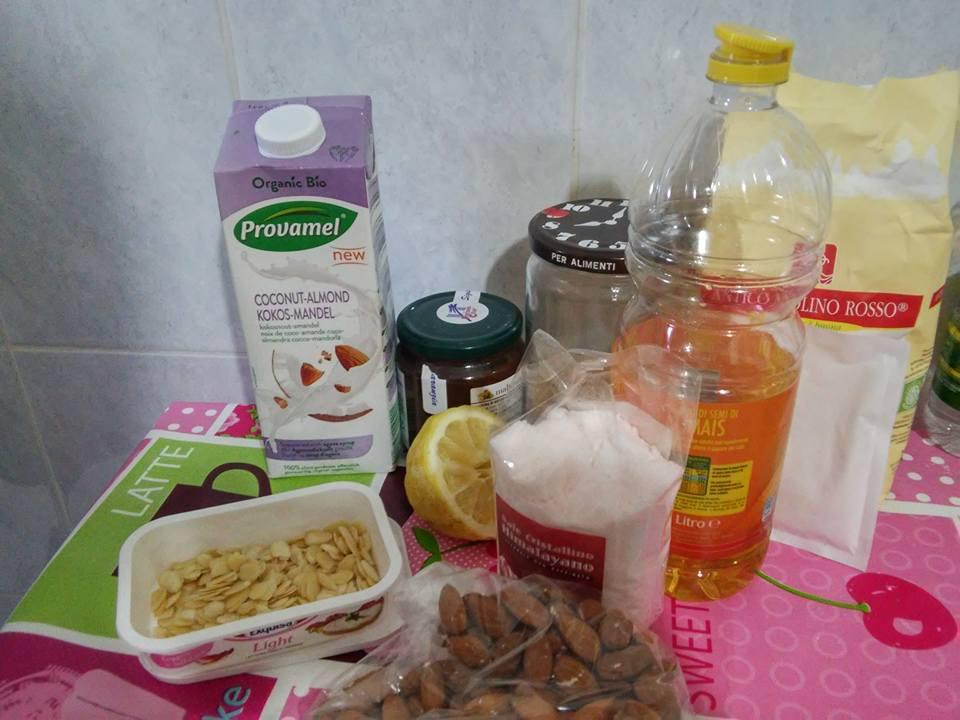 ricettevegan.org - muffins al latte di cocco - ingredienti