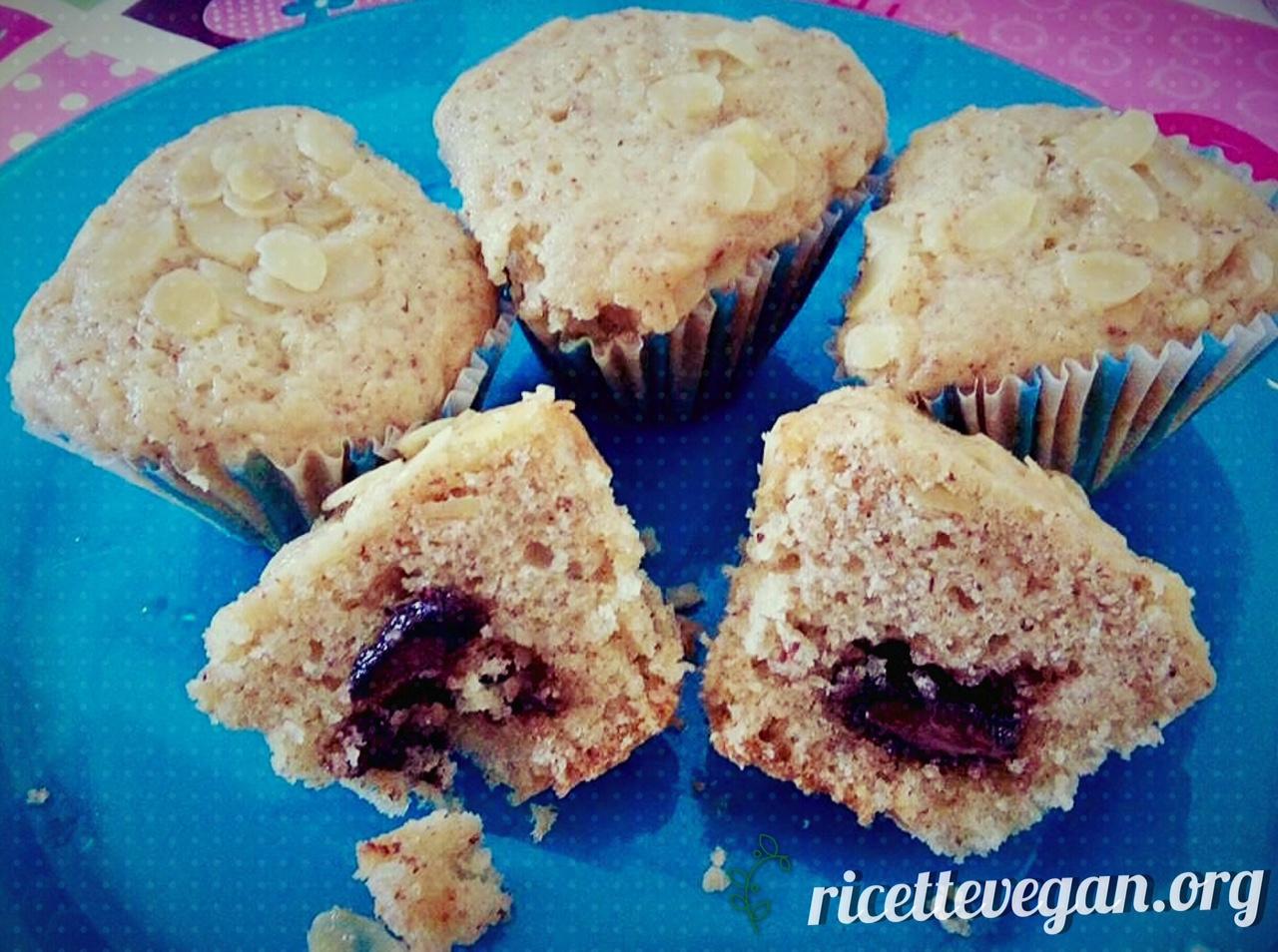 muffins al latte di cocco