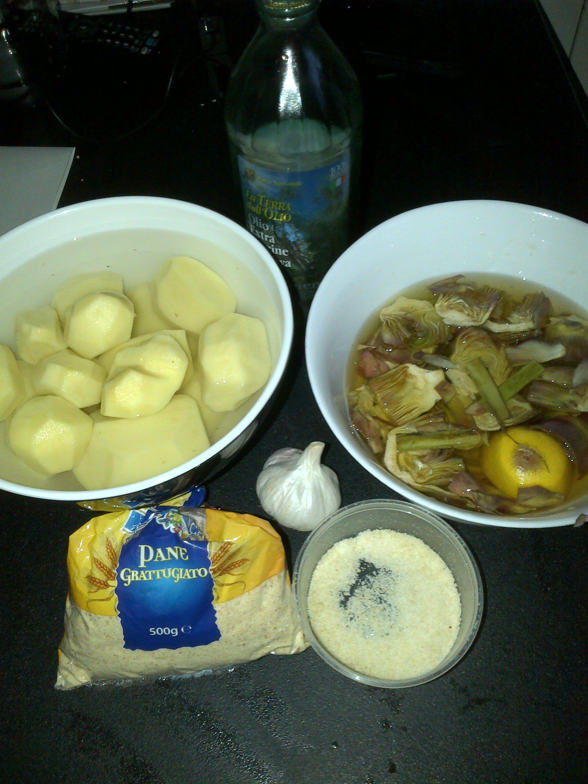 ricettevegan.org - patate e carciofi 1