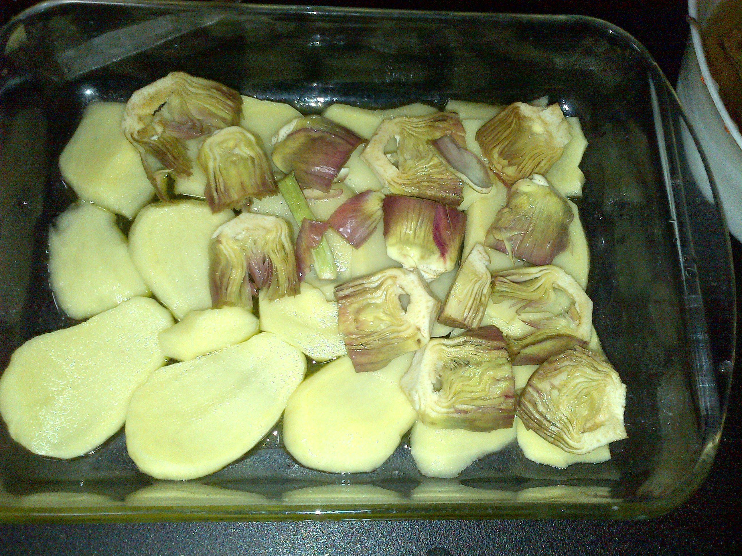 ricettevegan.org - patate e carciofi 2
