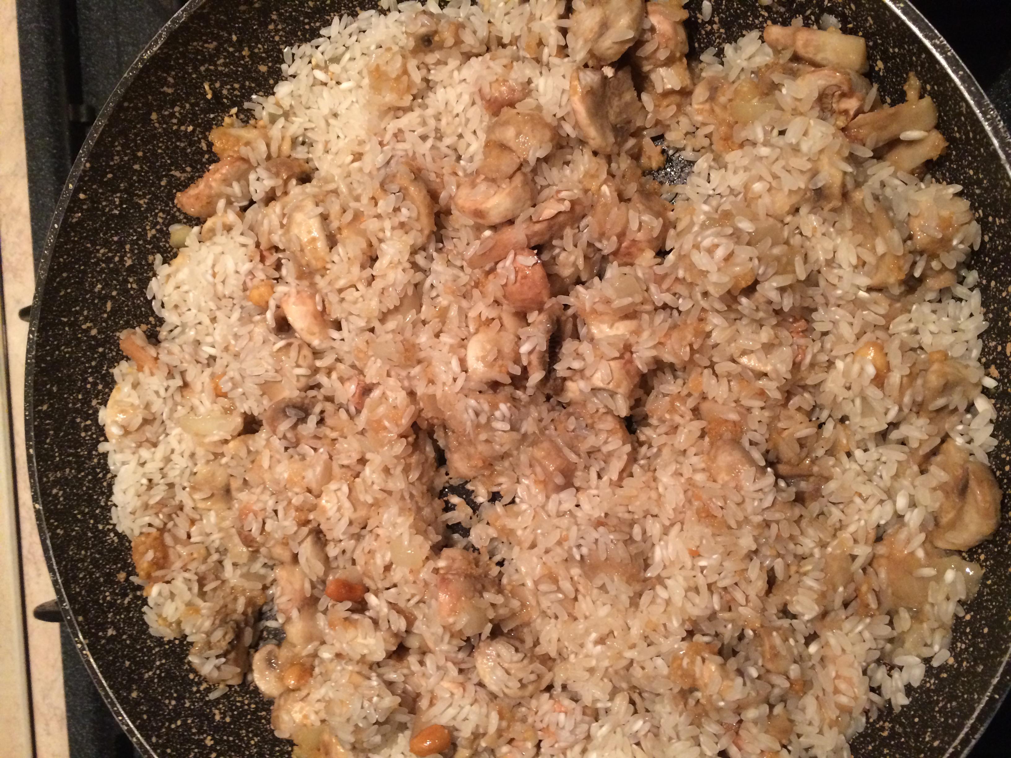 ricettevegan.org - risotto funghi e arachidi 5