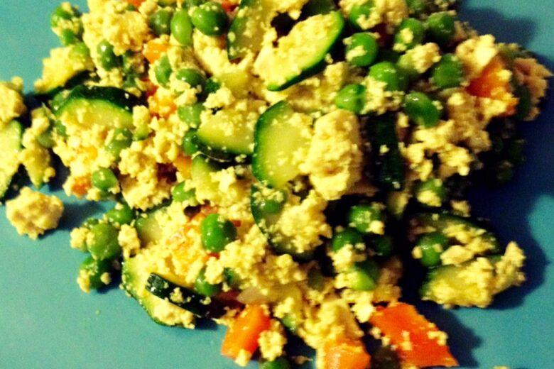 Tofu Strapazzato alle Verdure