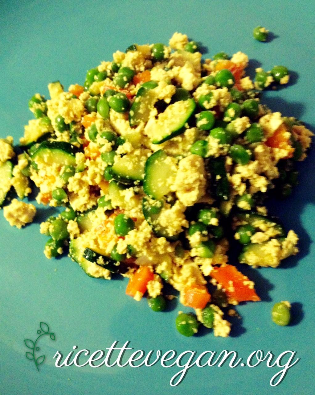 ricettevegan.org - tofu alle verdure