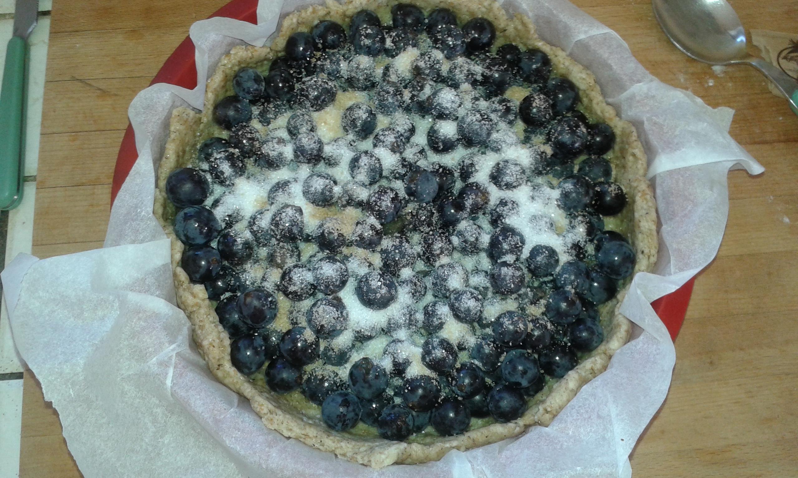 ricettevegan.org - torta di uva fragola 4a