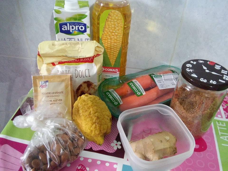 ricettevegan.org - ciambella simil camilla - ingredienti
