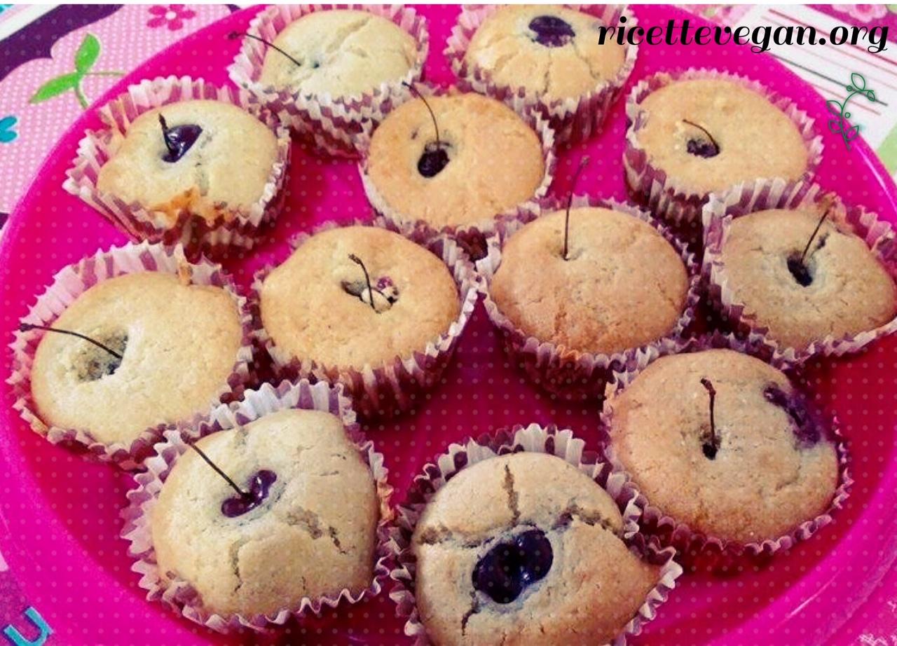 muffins alle ciliegie