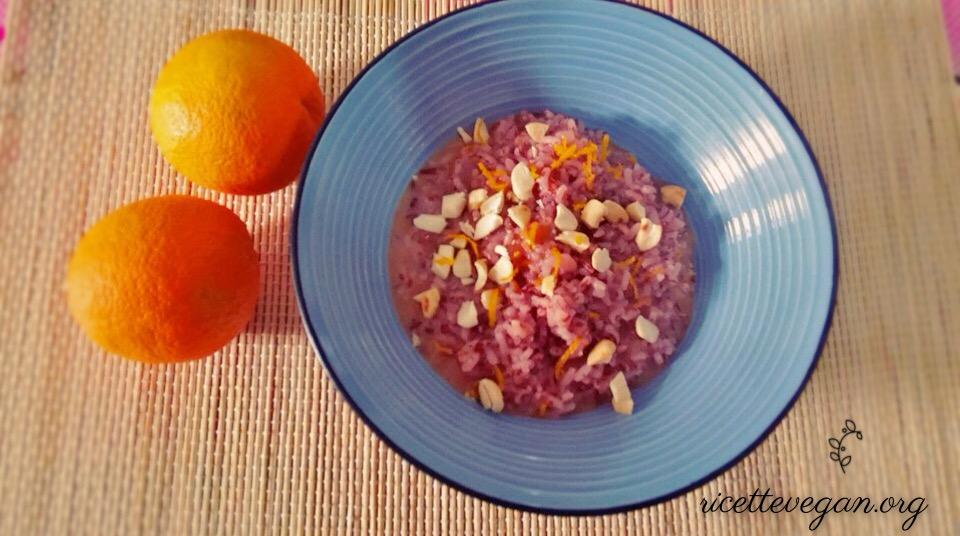 risotto arancia