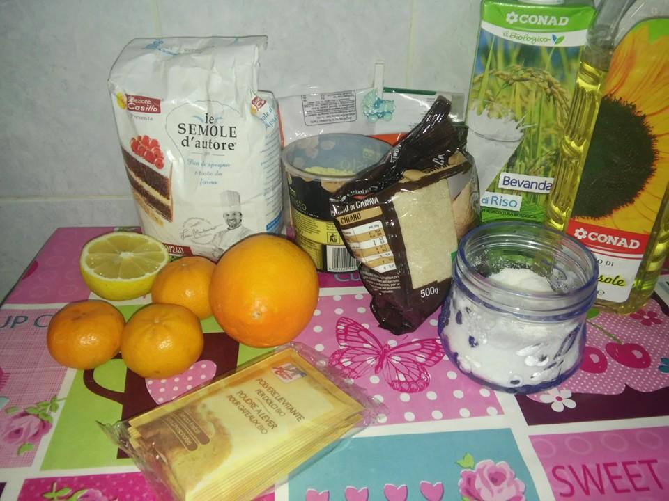 ricettevegan.org - torta agli agrumi - ingredienti