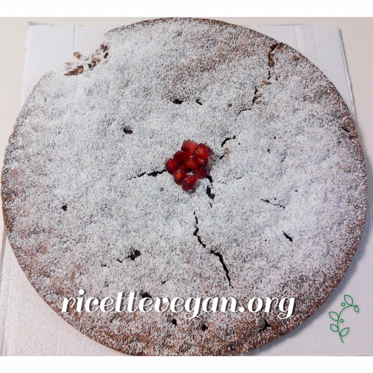 torta cacao e melograno