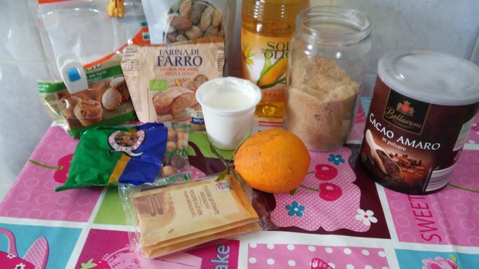 ricettevegan.org - torta fave cacao e arancia - ingredienti