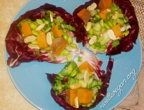 Verdure con Patate dolci in Guscio di Non-Capesante