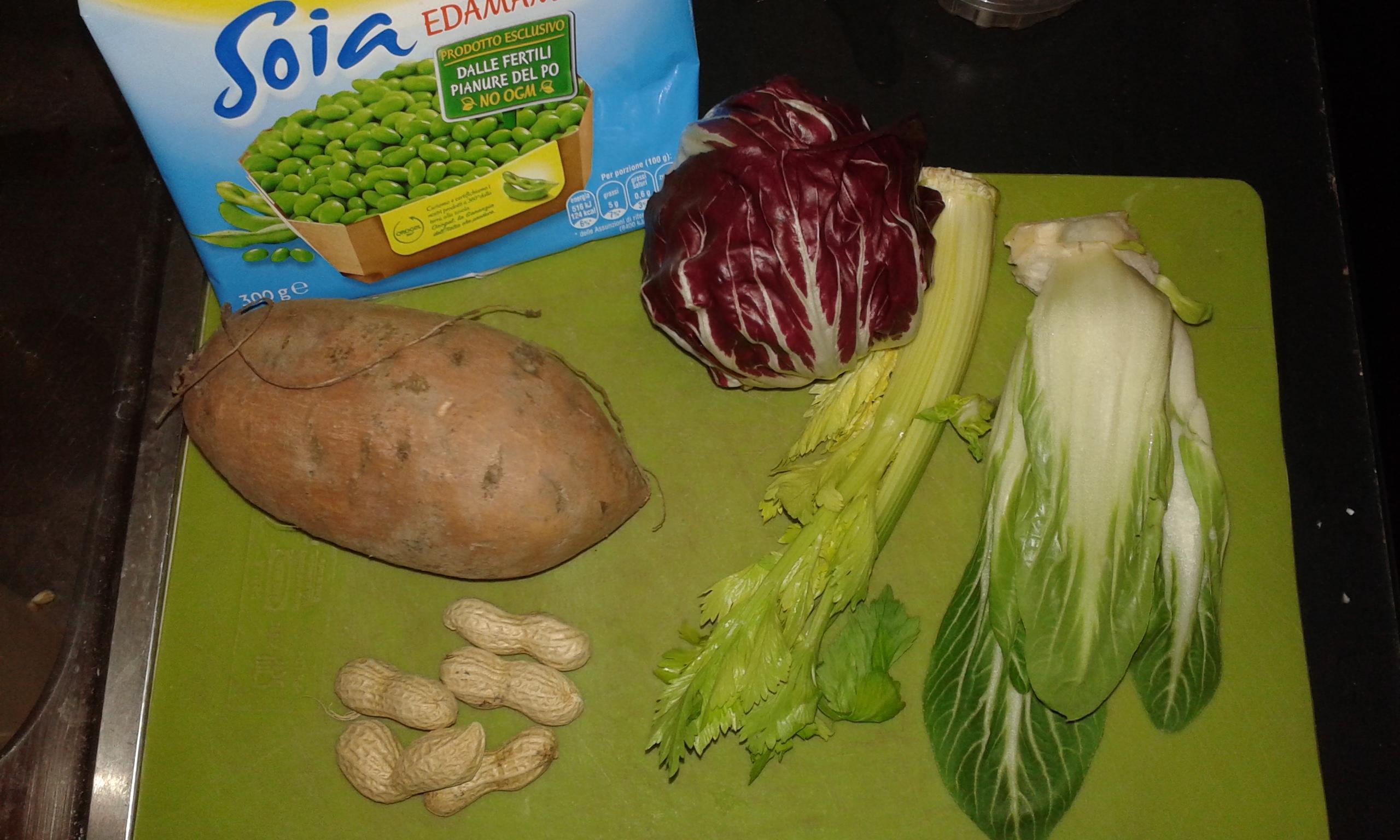 ricettevegan.org - verdure con patate dolci - ingredienti