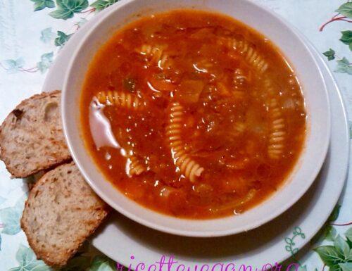 Zuppa di Lenticchie con Fusilli