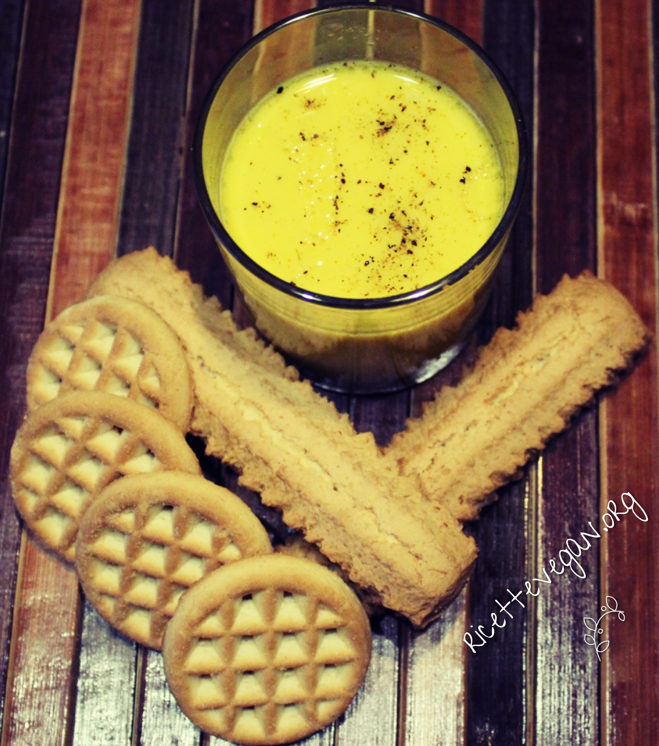golden milk vegano