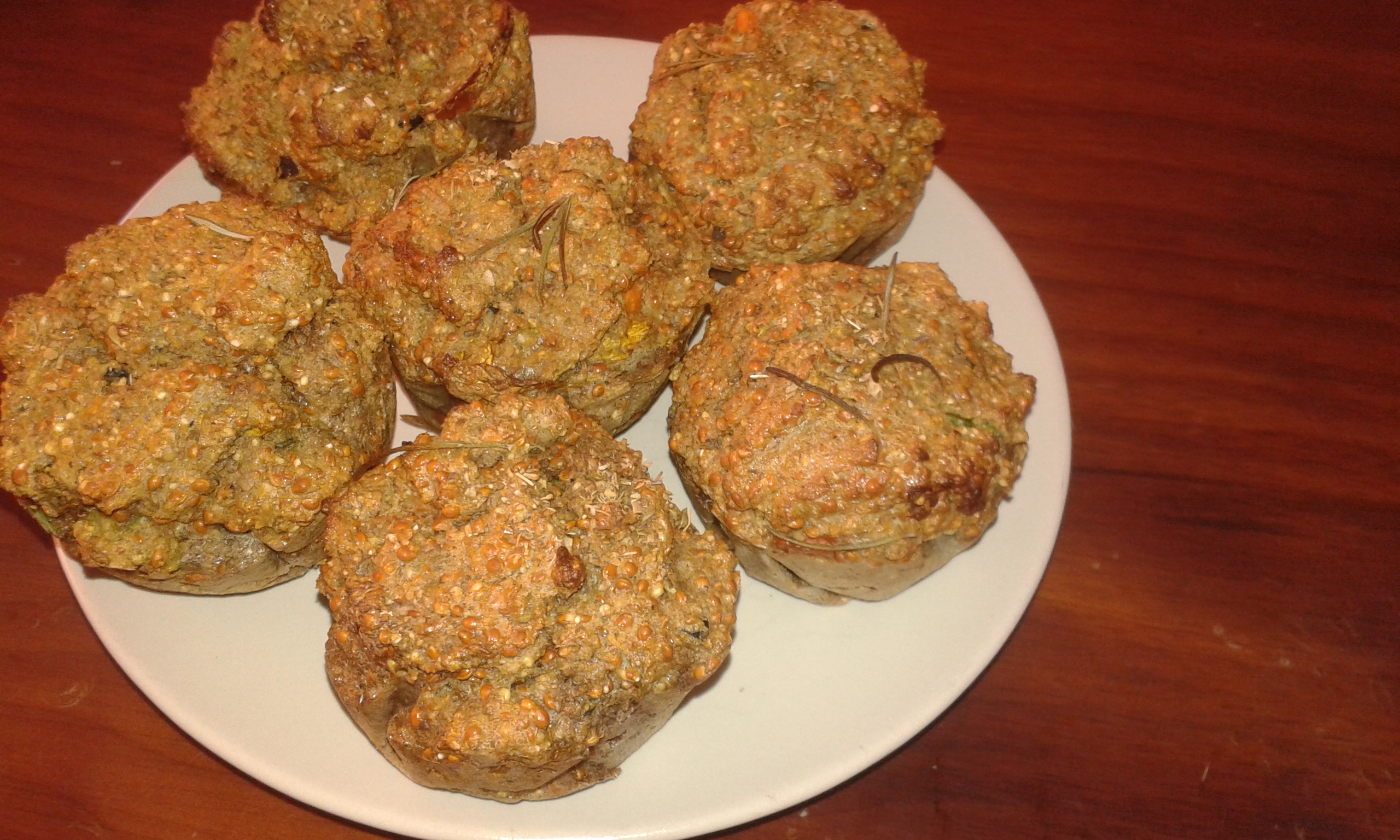ricettevegan.org - muffins salati di miglio 5
