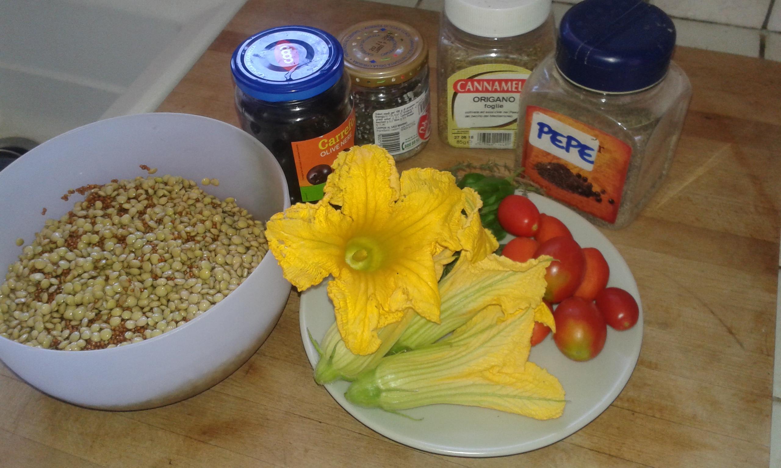 ricettevegan.org - muffins salati di miglio - ingredienti