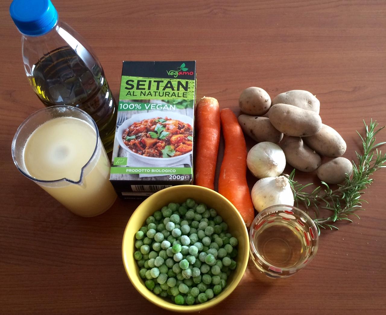 ricettevegan.org - spezzatino di seitan - ingredienti