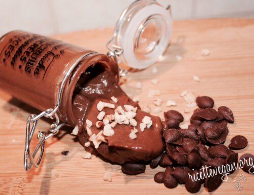 Mousse di Cacao con Avocado e Banana