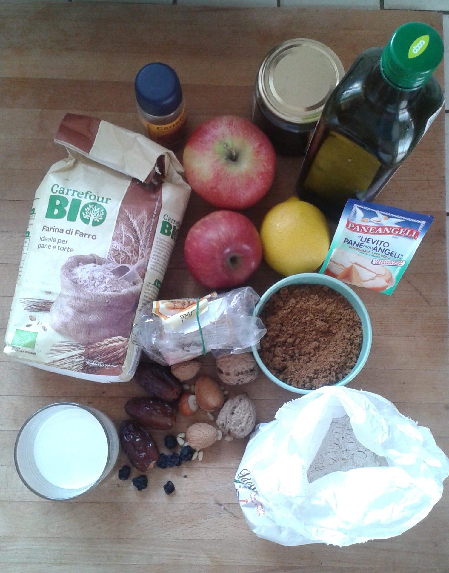 ricettevegan.org - torta profumi autunno - ingredienti