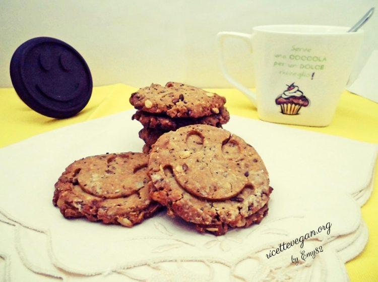 Biscotti ai Semi e Fiocchi D'avena