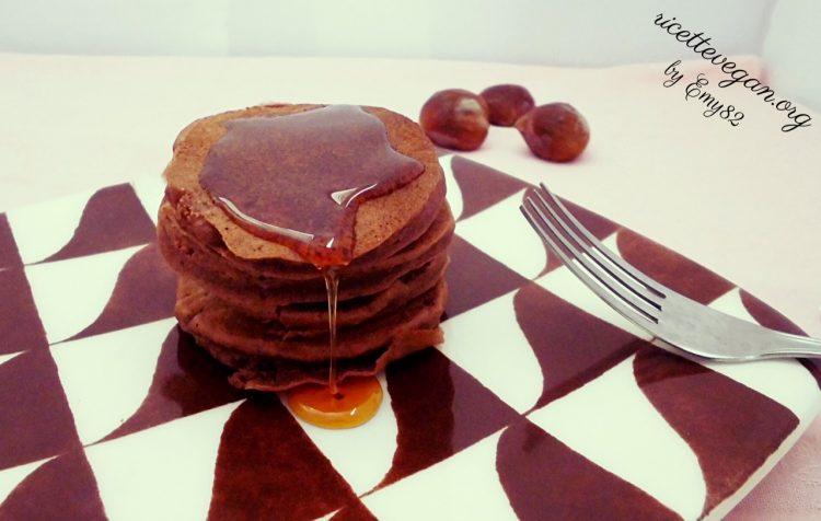 pancakes alla farina di castagne