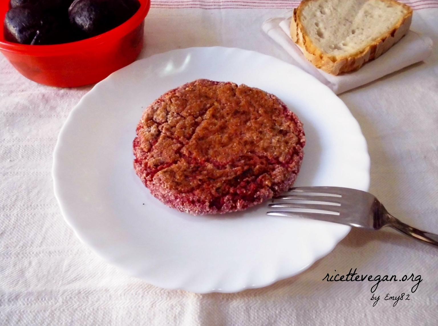 hamburgers di rapa rossa