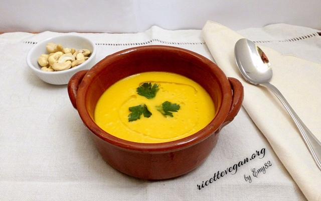 minestra di verdure e miglio