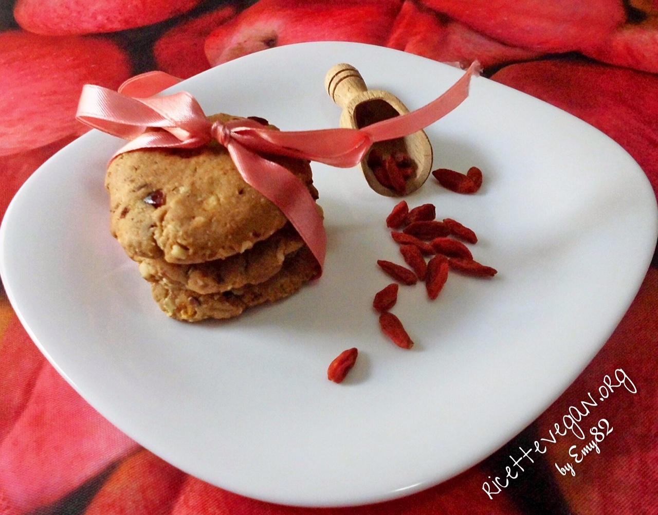 Biscotti Vegani con Esubero di Pasta Madre